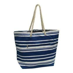 Goodhope P1660 Stripe Tote Navy