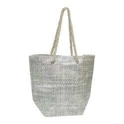 Goodhope P1663 Woven Tote (Set of 2) Silver