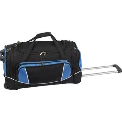 Goodhope P9224 24in Rolling Duffel Black/Blue