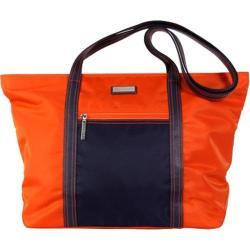 Women's Hadaki by Kalencom Cosmopolitan Tote Orange/Navy