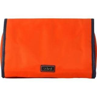 Women's Hadaki by Kalencom Toiletry Pod Roll-Up Orange/Navy