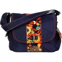 Women's Hadaki by Kalencom Trend Messenger Navy/Arabesque