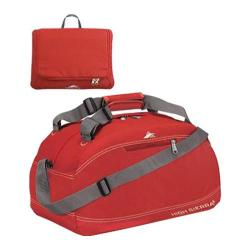 High Sierra Pack-N-Go Carmine Red 20-inch Carry On Duffel Bag