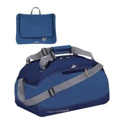 High Sierra Pack-N-Go Blue Velvet/Pacific 24-inch Duffel Bag