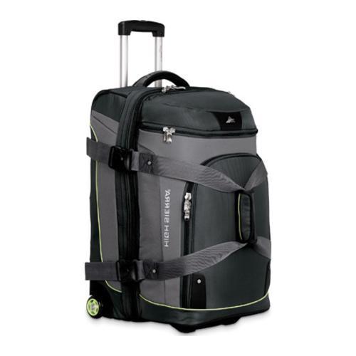High Sierra 26-inch Expandable Wheeled Drop-Bottom Duffrite Graphite/Titanium
