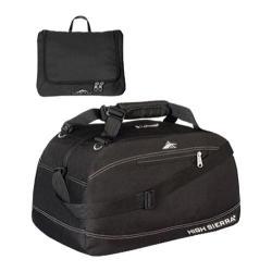 High Sierra 30in Pack-N-Go Duffel Black