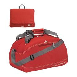 High Sierra 30in Pack-N-Go Duffel Carmine Red