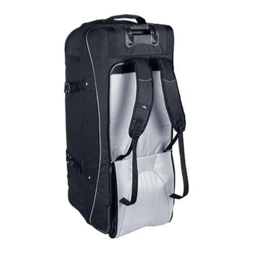 High Sierra 36in Drop Bottom Wheeled Duffel w/ Backpack Straps Black - Thumbnail 1