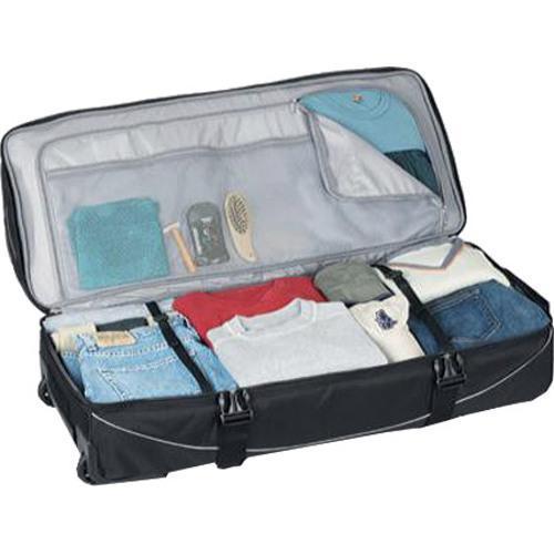 767e84aa6c1a ... Thumbnail High Sierra 36in Drop Bottom Wheeled Duffel w  Backpack  Straps Black