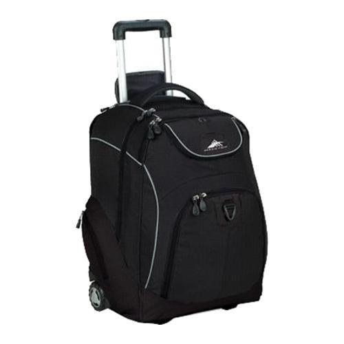 High Sierra Powerglide Wheeled Book Bag Black - Free Shipping ...