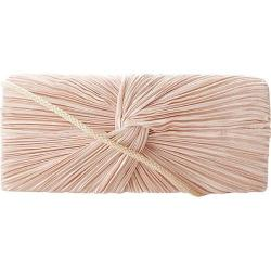 Women's J. Furmani 17946 Satin Flap Clutch Champagne