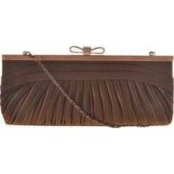 Women's J. Furmani 19825 Elegant Clutch Brown