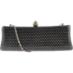 Women's J. Furmani 50600 Hardcase Fashion Clutch Black