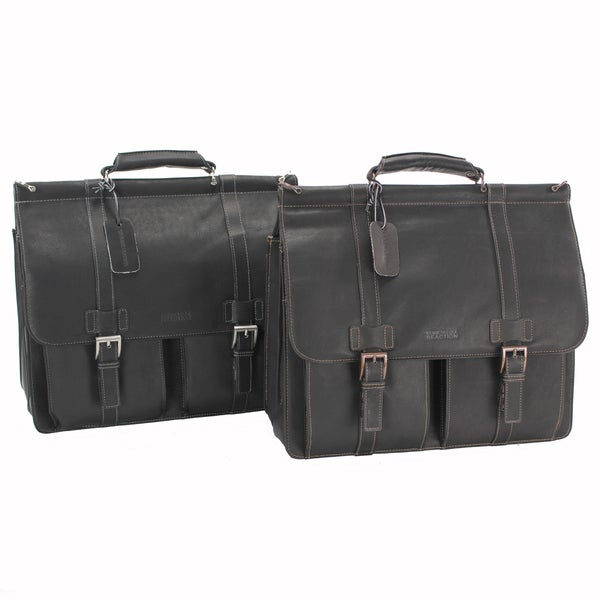 ad50c47bcd06 Shop Kenneth Cole Reaction Colombian Leather Double Compartment ...