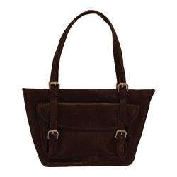 Women's Latico Addison E/W Large Tote 0243 Cafe Leather
