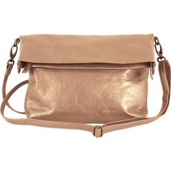 Women's Latico Ashley Cross Body 7804 Metallic Taupe Leather