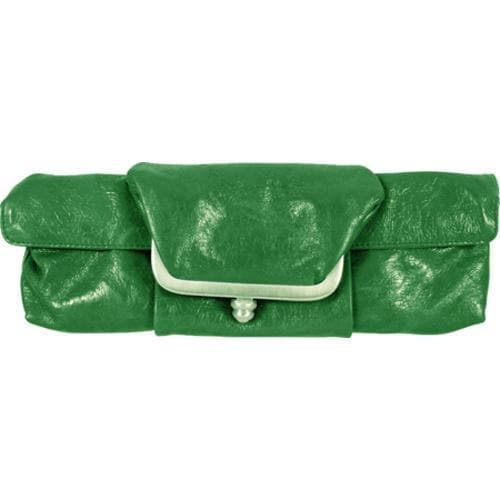 Women's Latico Barbi Clutch 7920 Green Leather