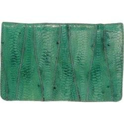 Women's Latico Ginger Wallet 5302 Green Leather