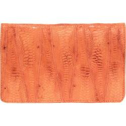 Women's Latico Ginger Wallet 5302 Orange Leather
