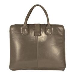 Women's Latico Jennette Laptop Brief 7638 Steel Leather