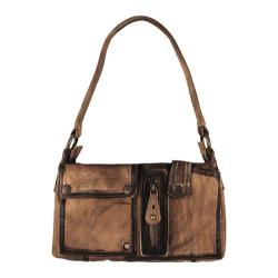 Women's Latico Jordan Shoulder Bag 3403 Brown Leather