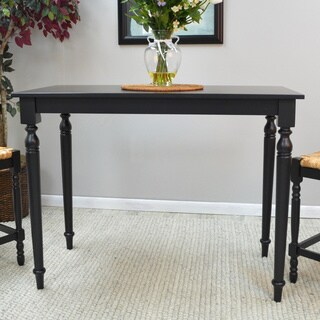 Gracewood Hollow Shelley Modern Minamlist Bar Table