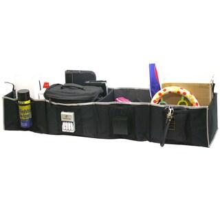Florida Brands Black 4-section Adjustable Trunk Organizer