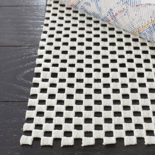 Safavieh White Synthetic Rubber Rug Pad - 2' x 12'
