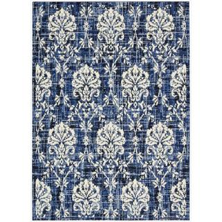 Barclay Butera Kaleidoscope Chambray Area Rug by Nourison (5'3 x 7'5)