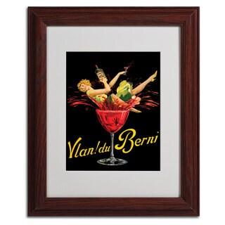 'Vlan du Berni' Vertical Framed Matted Art