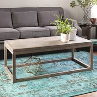 Clay Alder Home Studio Dove Finish Coffee Table