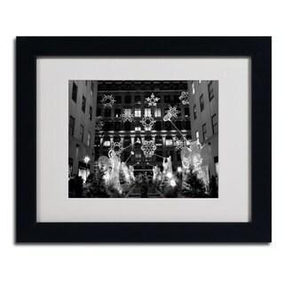 Yale Gurney 'Hark' Horizontal Framed Matted Art