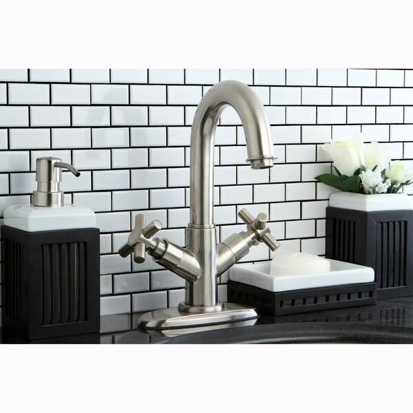 High Spout Bathroom Faucet: Shop High Spout Satin Nickel Bathroom Faucet
