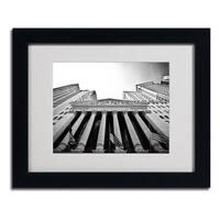Yale Gurney 'The New York Stock Exchange' Framed Matted Giclee Art