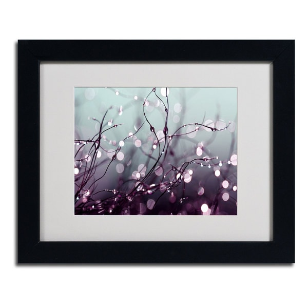 Beata Czyzowska Young 'Somewhere Over the Rainbow' Framed Matted Art
