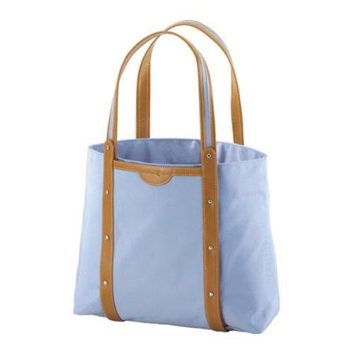 Crescent Moon Yoga Convertible Tote Blue/Tan