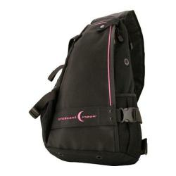 Crescent Moon Yoga Mat Pack Black/Pink