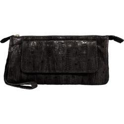 Women's Latico Millicent Clutch 5306 Black Leather