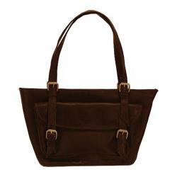 Women's Latico Millie E/W Tote 0242 Cafe Leather