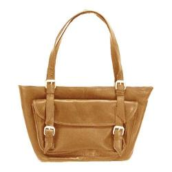 Women's Latico Millie E/W Tote 0242 Natural Leather