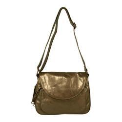 Women's Latico Mitzi Shoulderbag 7633 Metallic Olive Leather