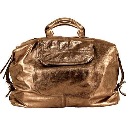 Women's Latico Natalia Satchel/Weekender 1808 Brown Leather