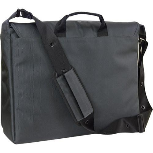 Women's Laurex 17in Laptop Messenger Bag Steal Petal/Gun Metal