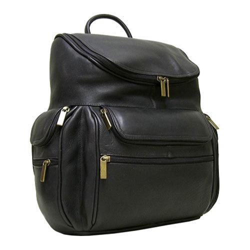 LeDonne Cafe Leather 15-inch Laptop Backpack