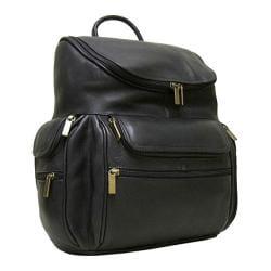 LeDonne Cafe Leather 15-inch Laptop Backpack - Thumbnail 0
