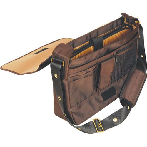 Women's Laurex 15.6in Laptop Messenger Bag Brown Wolf - Free ...