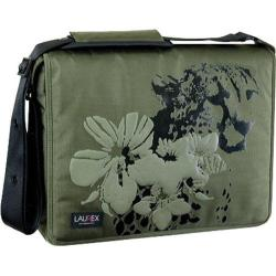 Women's Laurex 15.6in Laptop Messenger Bag Olive Cheetah - Free ...