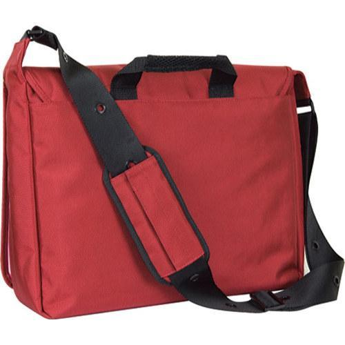 Women's Laurex 17in Laptop Messenger Bag Red Blossom/Red - Free ...