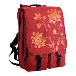 Women's Laurex Laptop Backpack Red Blossom/Red