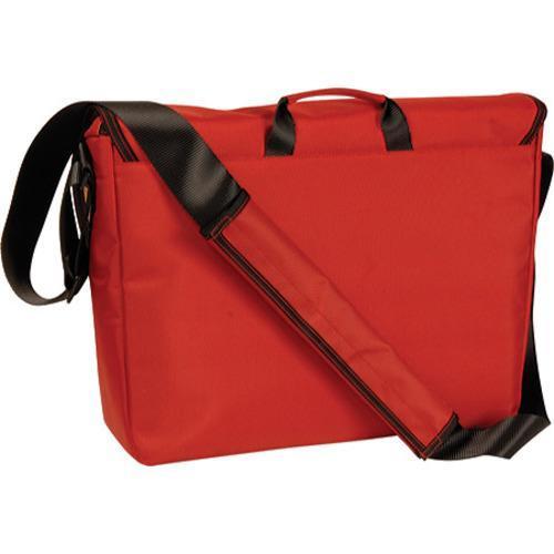 Women's Laurex Large Slim Messenger Bag Red Clover